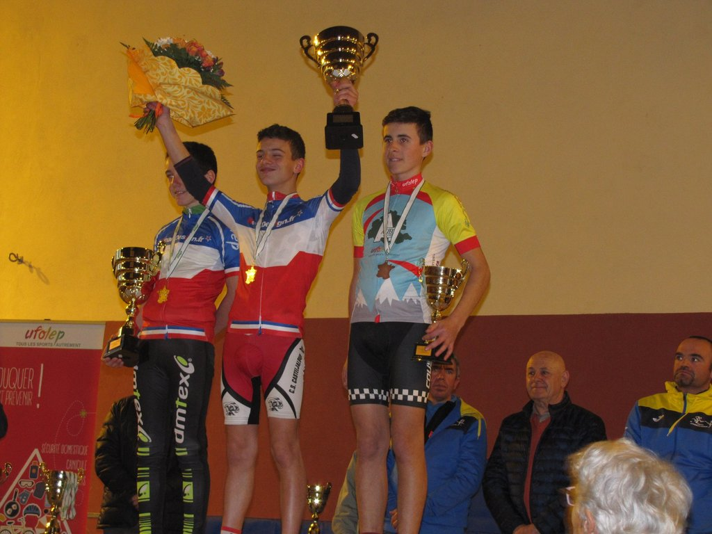 Bastien BOURDEJEAU champion NATIONAL
